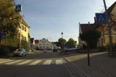 17 Früh am Morgen waren die Straßen in Deißlingen noch leer
