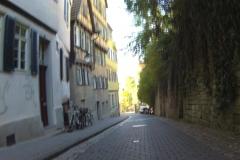 38_Zurück an den Neckar über das Kopfsteinpflaster von Tübingen