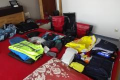 0001 - Das ist das ganze Gepäck, muss für 8 Wochen reichen