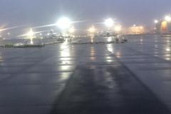 0005 - Flughafen Frankfurt beim Landeanflug