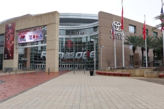 0026 - Das Toyota-Center, Heimat der Houston Rockets