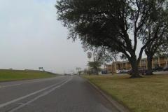 0065 - Abfahrt in Groves - dieses Motel wäre übrigens die bessere Wahl gewesen