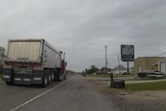 0153 - Bevor es mir zu wohl wird, donnerten wieder die Trucks an mir vorbei