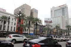 0193 - Am Beginn der Canal-Street dominieren große Hotels das Bild