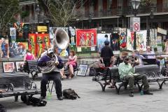0216 - Klassischer New Orleans Jazz von der Parkbank