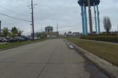 0225 -  Abfahrt in Metairie, ein letztes Mal am Jefferson-Wasserturm vorbei