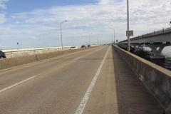 0312 - Nun geht es wieder kilometerlang über die Pensacola Bay