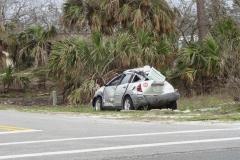 0296 - Das hat der Sturm von einem Auto übrig gelassen
