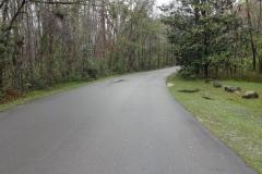 0401 - Abfahrt auf nassen Straßen in Wakulla Springs