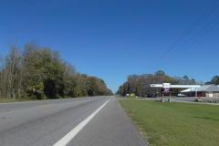 0410 - die nächste Tankstelle, knapp 8 Kilometer vor dem Ziel