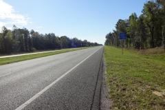 0417 - Und auch am nächsten Tag wieder schnurgerader Highway