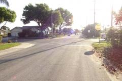 0456 - Schlecht zu sehen, aber in Sun City gibt es fast mehr Golf-Carts als Autos