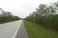 0515 - Große Abwechslung - nach 50 Kilometern Fahrt endlich eine Kurve