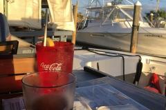 0544 - Abendessen in der Marina mitten im Hafen