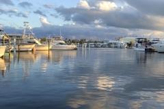 0546 - Dunkle Wolken hingen über der See, waren aber harmlos
