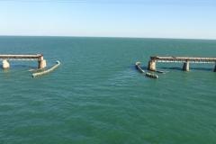 0574 - Blick nach rechts, vermutlich die alte Eisenbahnbrücke über die Keys, hier unterbrochen