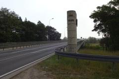 Zum Glück kam diese schöne Brücke über die Neiße nach Polen