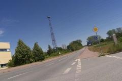 Grenze nach Polen mit früherem Wachturm