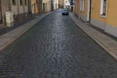 Die Gassen von Görlitz sind noch alle mit Kopfsteinpflaster