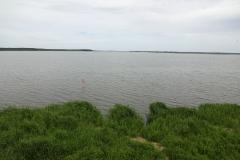 """Das erste Ostsee-Wasser, wenn auch """"nur"""" das Stettiner-Haff"""