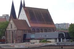 Die Konzerthalle, hier wurde fleißig geprobt
