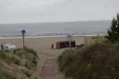 Die Ostsee bei Ahlbeck, dem Ende des Oder-Neiße-Radwegs - ab jetzt folge ich dem Ostseeküstenradweg