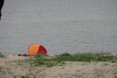 Entlang des Ostseeküstenradwegs gibt es viele solcher einsamer Strandstellen