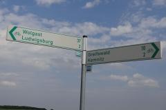 Da komme ich her (Wolgast), da will ich hin (Greifswald)