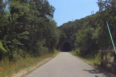 350 - Oh mal wieder ein Tunnel auf der Strecke