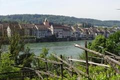 051 - Blick auf die schweizer Seite von  Rheinfelden