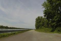 065 - Dammweg entlang des Grand Canal d'Alsace