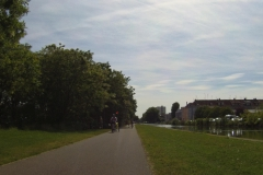 074 - Einfahrt nach Mulhouse entlang des Kanals