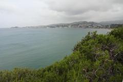 414 - Blick zurück in die Bucht von Bandol