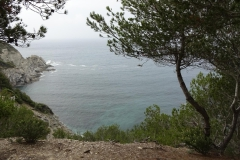 417 - Blick von der Steilküste in die Bucht