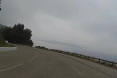 425 - Die Halbinsel vor Toulon in voller Fahrt geknipst