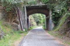 432 - Hier sieht man, dass die Radwege auf alten Bahntrassen angelegt wurden - tolle Idee
