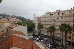 433 - Blick vom Balkon auf Le Lavandou
