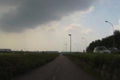 134 - Dann der Radweg entlang stark befahrener Ein- und Ausfallstraßen