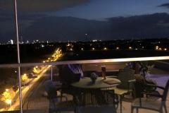 481 - Blick in Richtung München vom Hoteldach aus