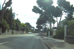 388 - Schon die Ausfahrt aus Carry-le-Rouet ging bergauf
