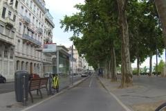 232 - Radstreifen parallel zur Rhône