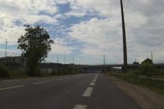 240 - Wegeführung parallel zur Autobahn - nicht schön, aber auch kein Problem