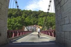 242 - Über diese Brücke - dann bin ich endlich in Givors