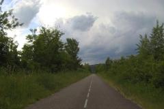 254 - Der Radweg immer zwischen schönem und weniger schönem Wetter