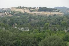 328 - Blick auf Fort Saint-André - auf der anderen Seite der Rhône