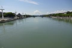 196 - Blick über die Rhône
