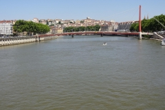 203 - Blick über die Saône und auf den Stadtteil Pentes de la Croix-Rousse
