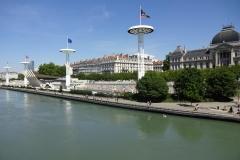 226 - Freibad von Lyon - direkt an der Rhône