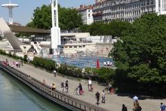 227 - Freibad von Lyon - direkt an der Rhône