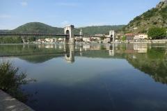 267 - Diese Brücke verbindet Andancette mit Andance